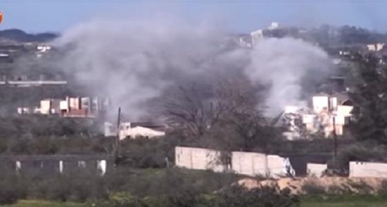 بالفيديو.. اشتباك الصاعقة المصرية مع الإرهابيين بسيناء