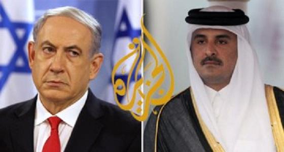 بالفيديو..النظام القطري يفضح علاقته بالصهاينة عبر الجزيرة