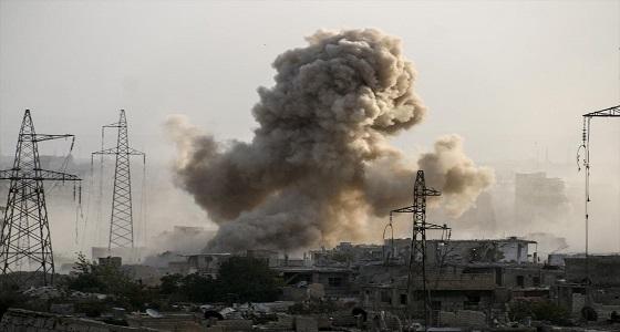 مصرع 9 مدنيين في غارات للنظام السوري بالغوطة الشرقية اليوم