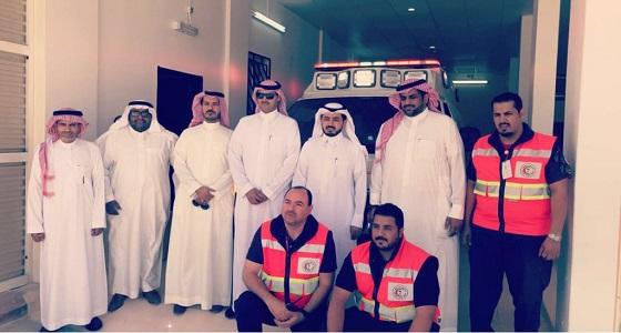 بالصور.. هيئة الهلال الأحمر السعودي تفتتح ثلاث مراكز إسعافية في الرياض