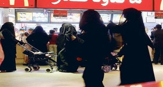 غيرة نسائية تتسبب في إشعال مشاجرة بأحد المطاعم