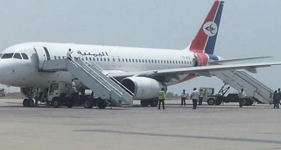 الموت كاد يصيب مئات اليمنيين على متن طائرة