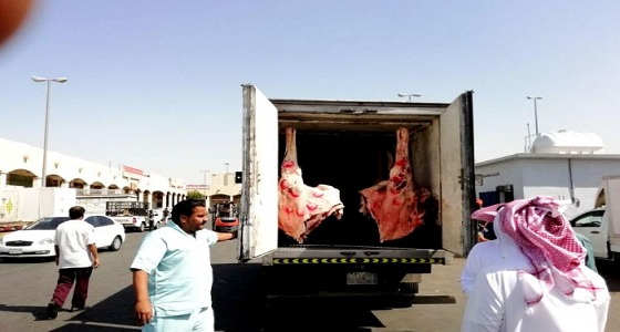 بالصور.. مصادرة 1200 كيلو من الأسماك واللحوم غير الصالحة للاستهلاك بمكة