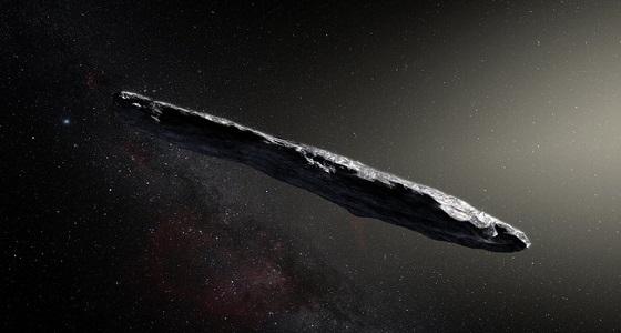 صورة غامضة لجسم فضائي طائر مجهول المصدر