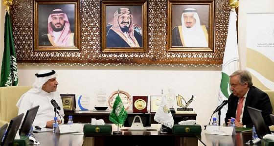 الأمين العام للأمم المتحدة يشيد بتجربة مركز الملك سلمان للإغاثة في اليمن