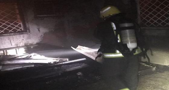 حريق منزل دون أصابات بقرية البتيلة في عسير