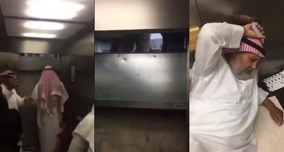 بدون تجاوب.. فيديو يوثق احتجاز 4 أشخاص داخل مصعد بأحد مستشفيات المدينة