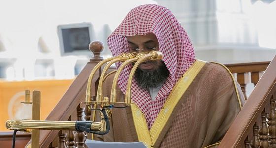في أول جمعة من رمضان.. الشريم يعدد فضائل الشهر الكريم من على منبر الحرم