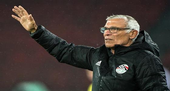 كوبر يطالب المنتخب المصري بعدم التركيز في خسارة الأخضر