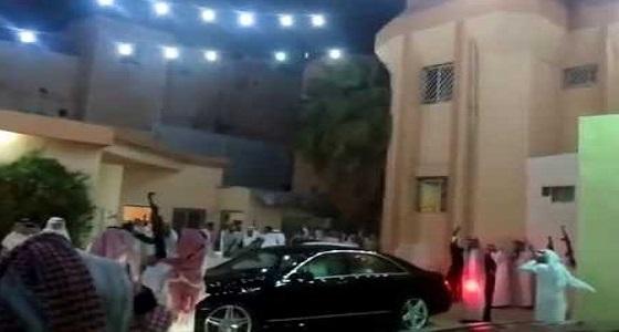 """شرطة جازان تكشف تفاصيل حادث إطلاق نار في زفاف  """" مزهرة """""""