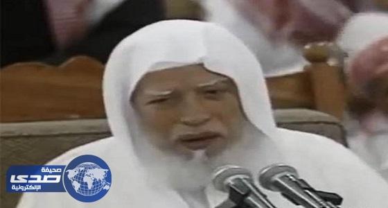 الشيخ أبو بكر الجزائري إلى رحمة الله.. والصلاة عليه بالحرم النبوي