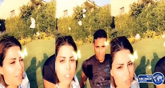 """بالفيديو.. الفنانة شمس ترد على منتقدي مقطع إهانة العامل المصري: """" أنتو أولاد كلب """""""