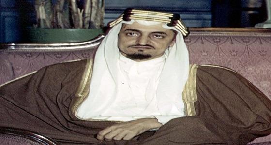 الملك فيصل في فيديو نادر: حينما نصارح بسياستنا لا يهمنا أن يزعل الشرق أو يتكدر الغرب