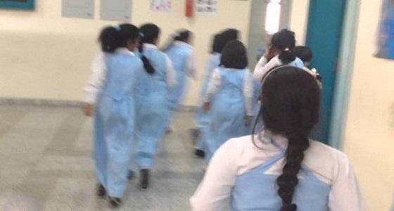 """"""" تعليم شقراء """" يوضح ملابسات عقاب طالبة ابتدائية قصت شعرها"""
