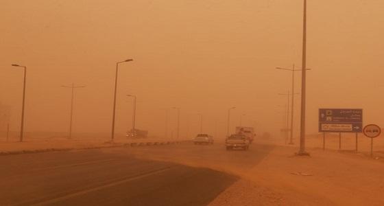 الأرصاد تحذر من الغبار والعوالق الترابية في الجوف