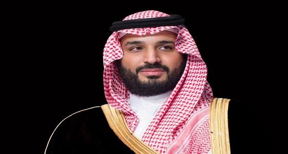 سمو ولي العهد يعزي الرئيس اليمني في وفاة وزير العدل