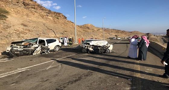 وفاة وإصابة 3 أشخاص إثر حادت تصادم بالباحة