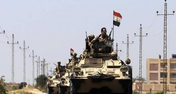 الأمن المصري يقتل 12 مسلحا في العريش