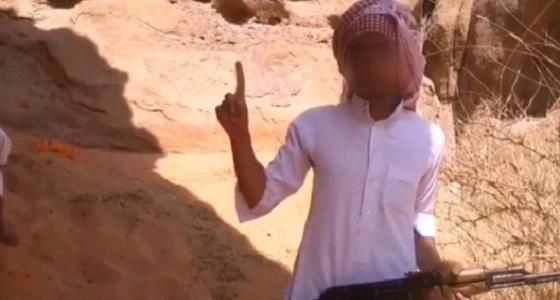 """تعليق ابن عم داعشي """" تكفى ياسعد """" بعد تنفيذ الحكم بحد الحرابة فيه"""