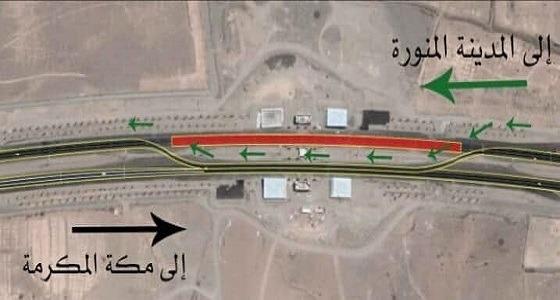 أمن الطرق يحذر مستخدمي طريق المدينة المنورة – مكة المكرمة