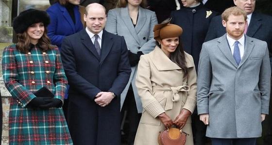 مفاجأة.. الأمير وليام وزوجته لم يكونا راضيين عن علاقة هاري وميجان