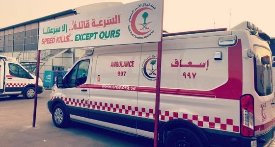 29 فرقة إسعافية للهلال الأحمر تغطي مسابقات فورميلا أي الدرعية