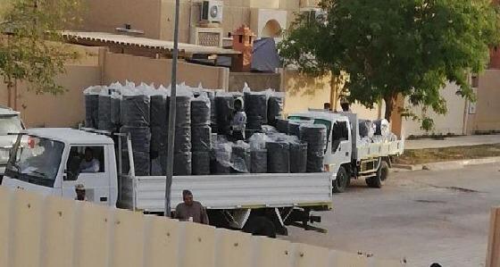 توجيهات وزير الحرس الوطني تنهي معاناة سكان ديراب من مشكلات النظافة
