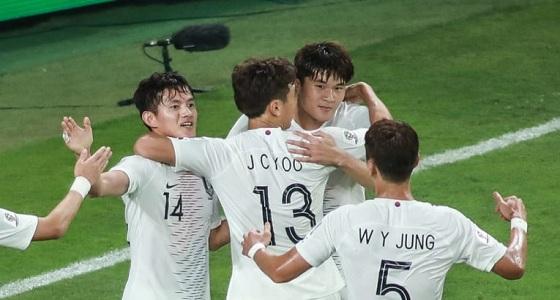 كوريا الجنوبية يحجز بطاقة التأهل للدور الثاني في كأس آسيا2019