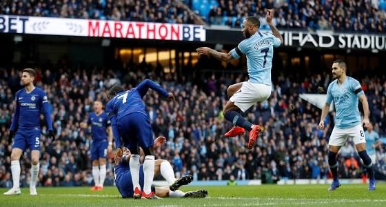 مانشستر سيتي يكتسح تشيلسي بسداسية ويتقاسم الصدارة مع ليفربول
