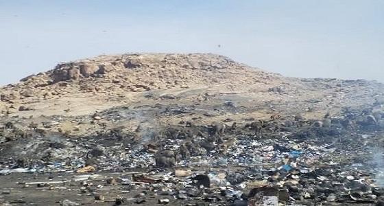 بالصور.. ضبط مخالفات بيئية بمرمى النفايات البلدية في ظهران الجنوب