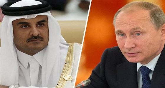 روسيا تحرج تميم: شأنكم صغير والرياض مستقبل المنطقة