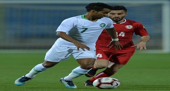 الأخضر تحت 23 عامًا يفوز على لبنان في تصفيات كأس آسيا