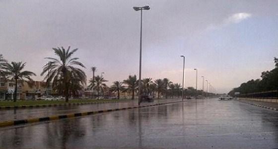 هطول أمطار على المنطقة الشرقية