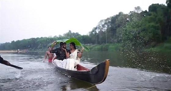 بالفيديو والصور.. موقف محرج لعروسين أثناء جلسة تصوير قبل الزفاف