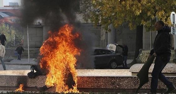 """بعدما خلفوا وعدهم بتوظيفه.. تركي ينتحر حرقا صافعا وجه """" أردوغان وزبانيته """""""