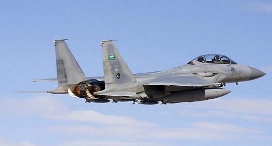 """"""" التحالف """" ينفذ عمليات جوية نوعية على عدد من الأهداف العسكرية لمليشيات الحوثي"""