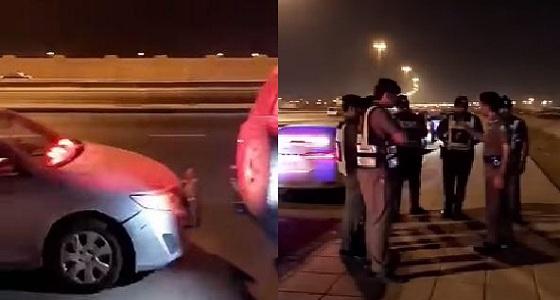 بالفيديو.. رجال المرور السري يقبضون على المتهورين بعد إبطاء سرعة المركبات
