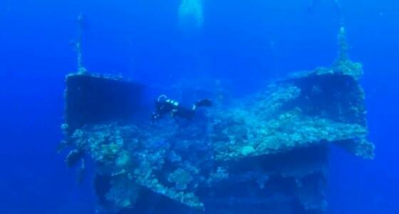 بالصور.. رحلة غوص لـ 45 سعوديا للوصول لسفينة بريطانية غارقة ببحر شرم ينبع