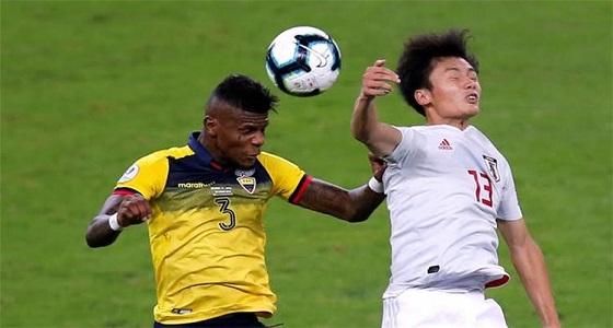 كوبا أمريكا..التعادل يُخرج الإكوادور واليابان من البطولة