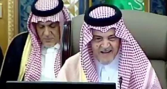 تعليق تركي الدخيل على خطاب مثير للأميرسعود الفيصل في الشورى