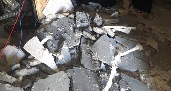 انهيار منزل مواطن بعد شرائه من البنك بجدة