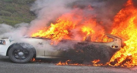 كشف غموض إحراق متعمد لسيارتين في بيشة