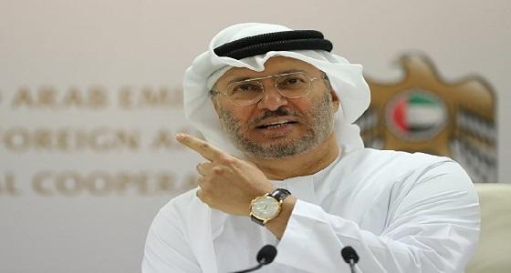قرقاش: السعودية هي التي تقرر استمرار الإمارات ضمن التحالف من عدمه