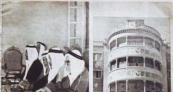 صورة نادرة .. انعقاد مجلس الوزراء داخل القصر الأحمر قبل 59 عاما
