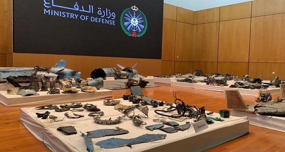 بالفيديو .. وزارة الدفاع تستعرض الأسلحة الإيرانية المستخدمة في هجومي أرامكو