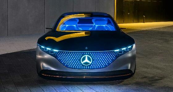 بالصور.. مرسيدس- بنز تكشف عن مواصفات سيارتها الاختبارية الكهربائية الجديدة