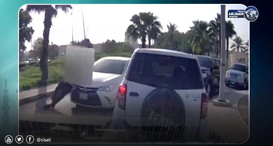 تفاصيل جديدة عن واقعة دهس «مراقب مرور» بجامعة الملك سعود