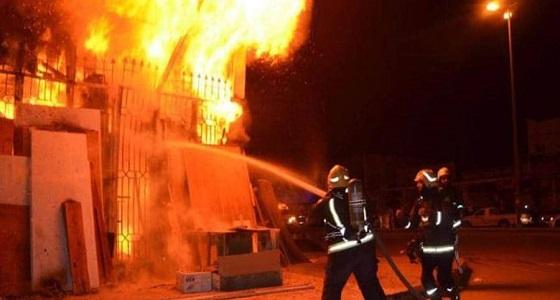 تفاصيل مصرع امرأة إثر حريق بمنزلها في تبوك