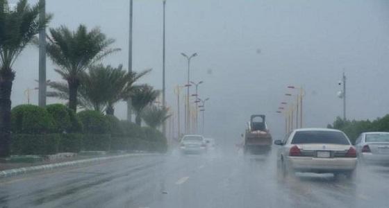 هطول أمطار على القنفذة وطريق مكة – جدة السريع