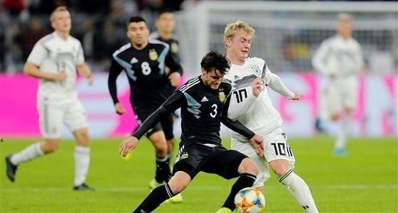 ودية الأرجنتين وألمانيا تنتهي بالتعادل الإيجابي